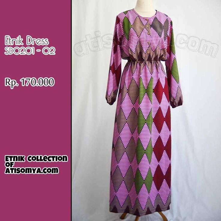 Baju Etnik Busui Friendly Motif Wajik Rang Rang Bali Purple