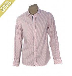 Camicia righe rosse - Camicie & Co.