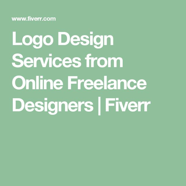 Logo Design Services from Online Freelance Designers | Fiverr