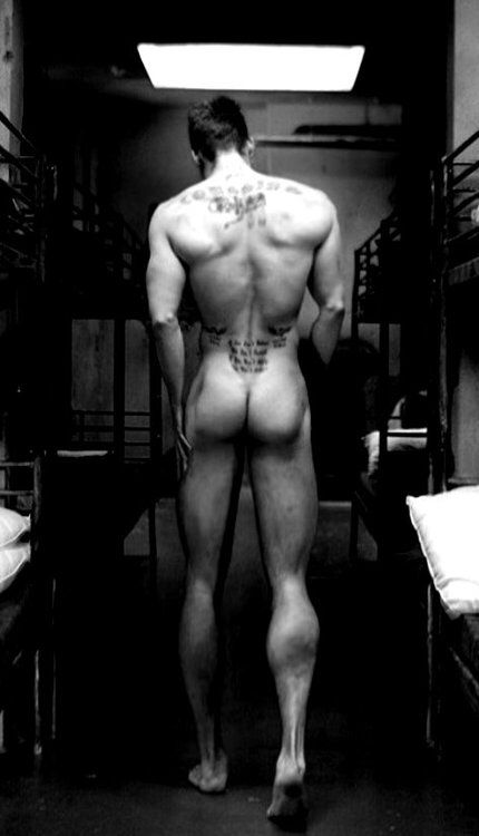 anus lean back