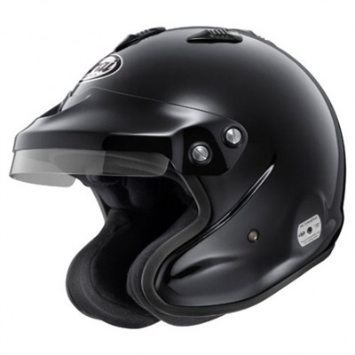 Arai GP-J3 Black, Free bag, Free shipping, from HelmetLab.com