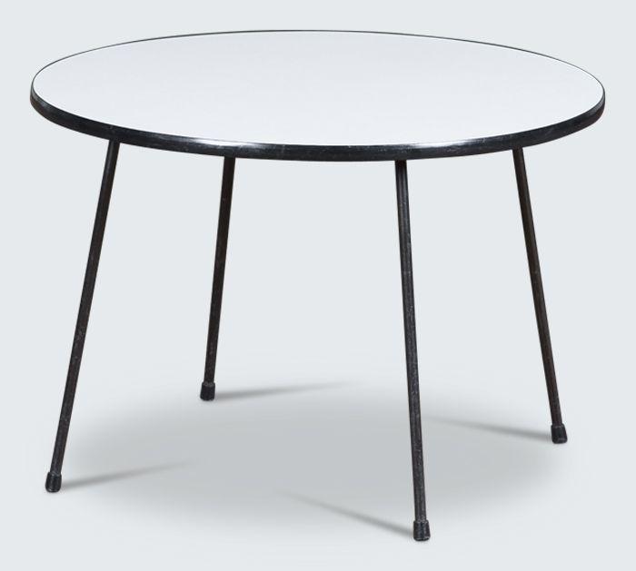 Dutch coffee table designed by Rudolf Wolf circa 1950