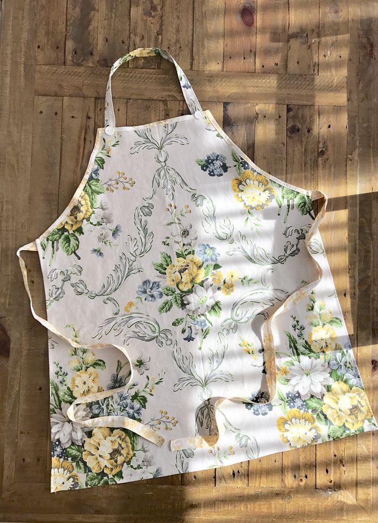 A personal favourite from my Etsy shop https://www.etsy.com/au/listing/555948251/floral-apron-bib-apron-linen-apron