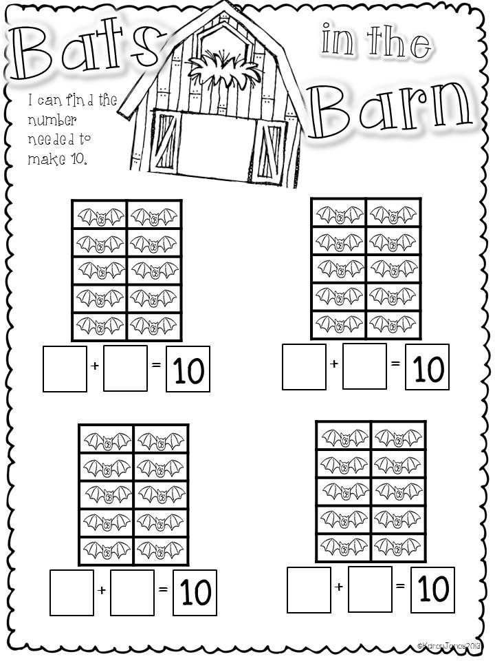 Halloween CC Literacy and Math centers & activities for