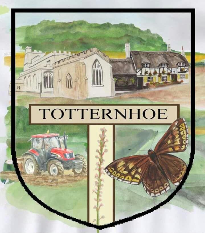 Totternhoe village sign design