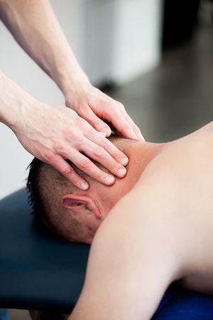 Bedrijfsfotografie manuele therapie FYSIOCENTER BLADEL. Foto door Marijke Krekels Fotografie
