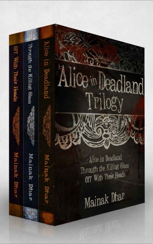 Alice in Deadland: The Complete Trilogy by Mainak Dhar on StoryFinds - $1 Kindle box set deal - three books in one - fairy tales with dark twist