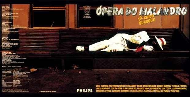Elifas Andreato: capa do Ópera do Malandra (frente)