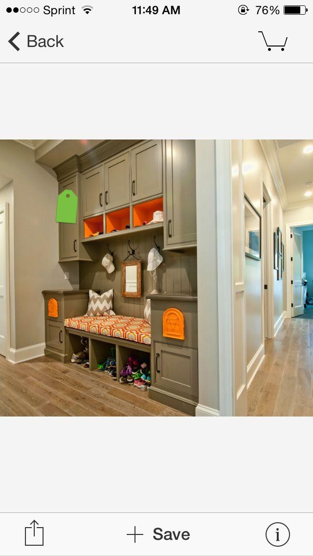 Mejores 15 imágenes de Mud Room en Pinterest | Zaguán, Almacenaje en ...