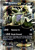 Pokemon - Tyranitar-EX (42/98) - Ancient Origins - Holo
