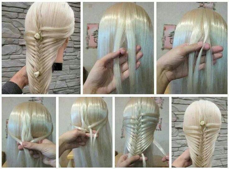 How to Style::Khaleesi Hair•Ariel Mermaid Hair (Start the weave slightly lower down)• Rennaisance Hair (add double braid from temples across top of weave), etc.. .