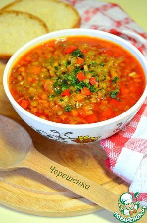 Супа лешта (суп с чечевицей). Постный рецепт