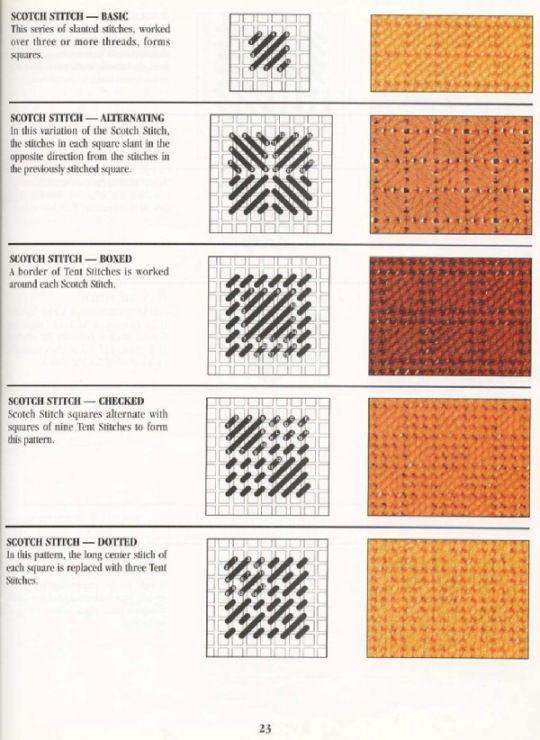 Gallery.ru / Фото #27 - Stitch Dictionary Plastic Canvas - Orlanda