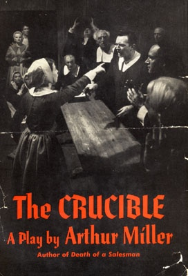 the role of fear in the crucible a play by arthur miller Reverend parris, a character in the crucible play by arthur miller is considered to be despicable in many ways this town preacher believes himself to be a pious man in truth, he thirsts for power, land, and material possessions many of his parishioners, including the proctor family, have.