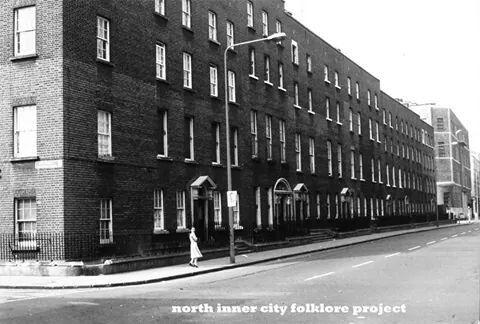 Upper Sean McDermott Street, Dublin, Ireland.