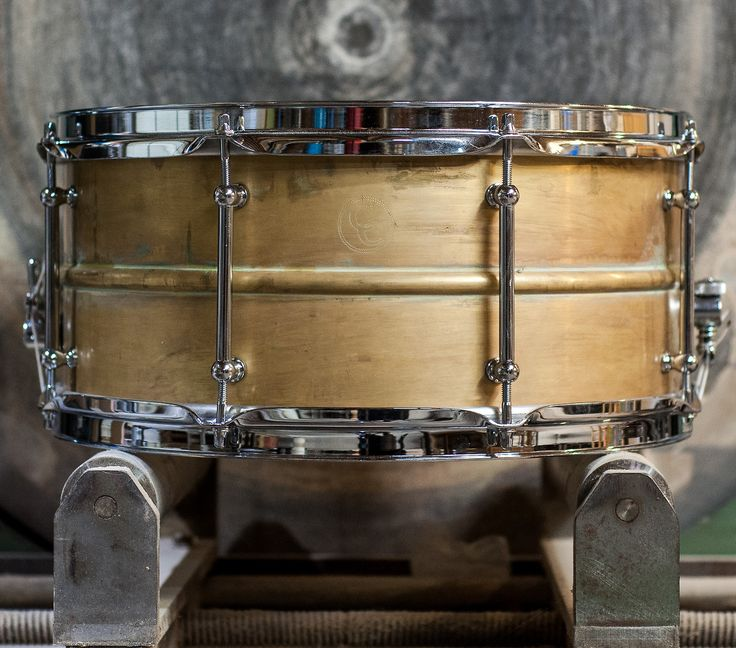 Matthew Decker S Dirty Brass Snare Drum