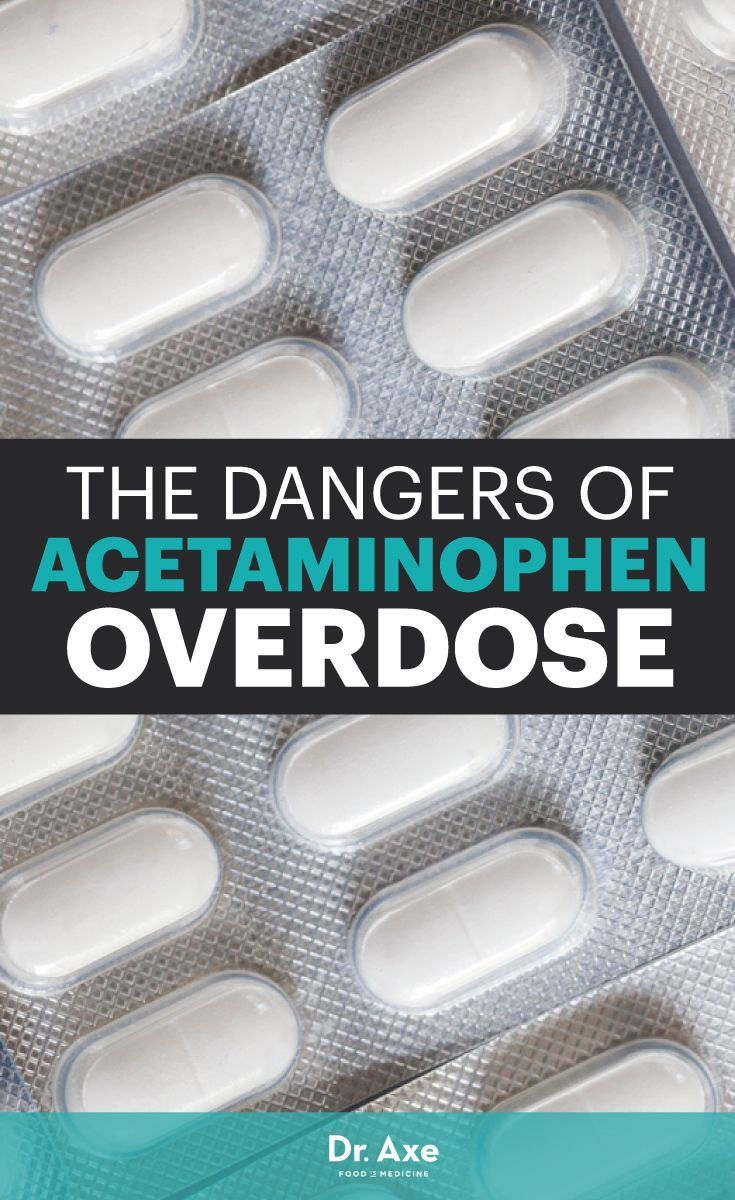 Why is acetaminophen so dangerous to my health?