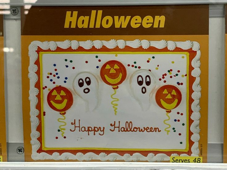 Pin by Molly O'Brien on sheet cakes in 2020 Halloween