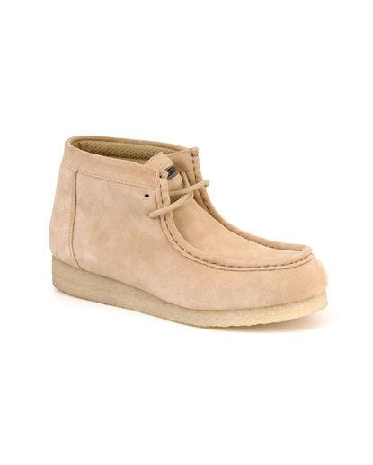 Womens Tan Suede Roper Gum Sole Chukka Boot
