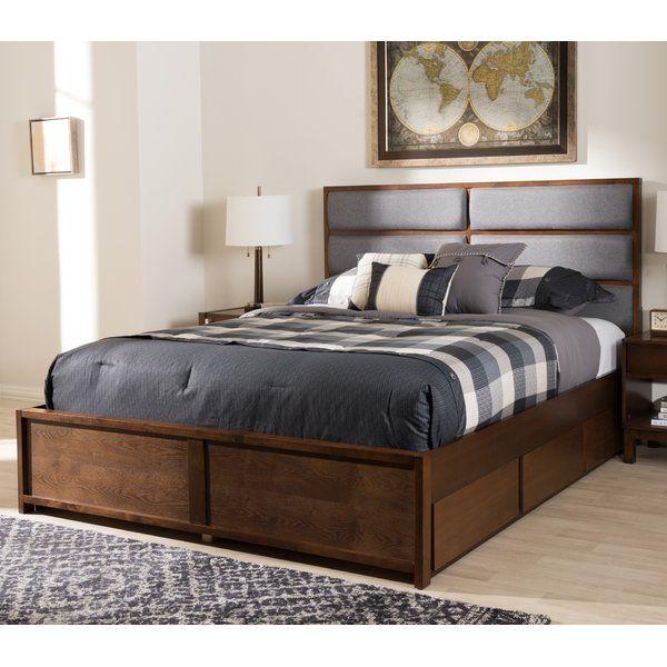 Fraser Upholstered Storage Platform Bed Upholstered Storage