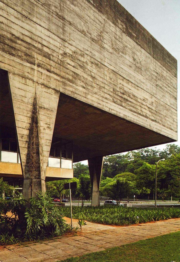 School of Architecture and Urbanism at the University of São Paulo, João B. Vilanova Artigas.