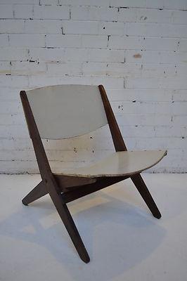 rare ernest race cormorant folding chair