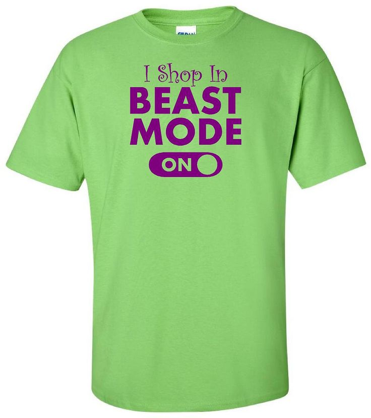 I Shop In BEAST MODE - Funny Cute Extreme Shopping T Shirt - Adult Unisex Sizes - Gildan - Women - Ladies - Christmas - Black Friday Humor by IsawThatOnPinterest on Etsy #ishopinbeastmode #beastmode #shopping #shop #blackfriday #retailtherapy #switch #switchison #funnytshirt #ladies #woman #women #theblackfriday #dayafterthanksgiving #thanksgiving #isawthatonpinterest #shoppingtshirt #blackfridaytshirt #isurvivedblackfriday