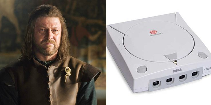 Game of Thrones Characters as Video Game Consoles Eddard – Dreamcast – Head of a strong household killed off too soon, many claim unjustly.