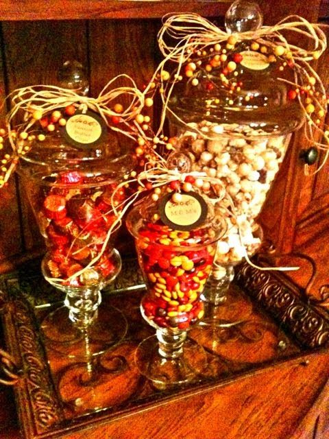 1000 Images About Fall Thanksgiving Candy Buffets And