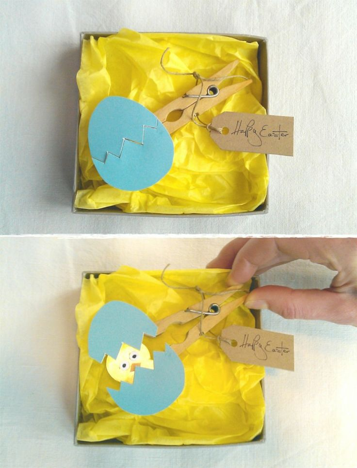 A cheep Easter card idea.... - Arts & Crafts, Uncategorized - Country Living Ed