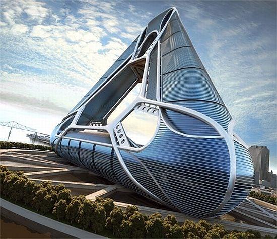 Triangular shaped building..   architecture   Pinterest