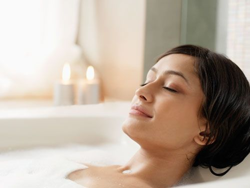 We've rounded up the best-ever tips for the perfect #bath of soothing suds. #health