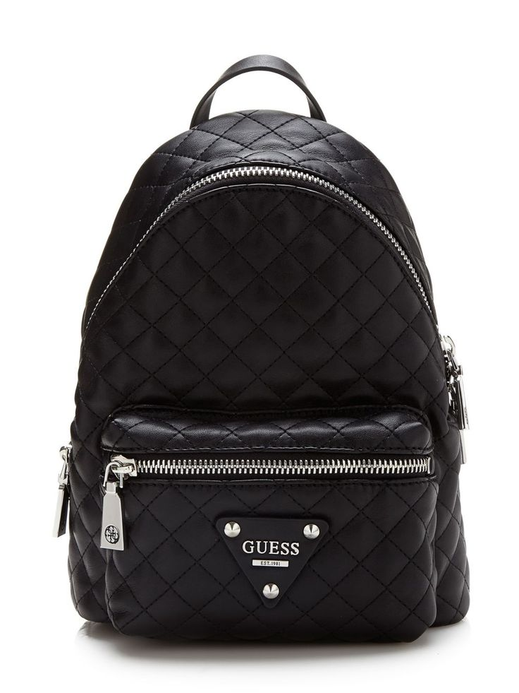 Leeza quilted Backpack | GUESS.eu