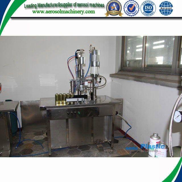Qgb Semiautomatic Aerosol Filling Machine From The Biggest Aerosol Filling Machine Manufacturer In China Aerosol Spray Paint Fire Suppression System