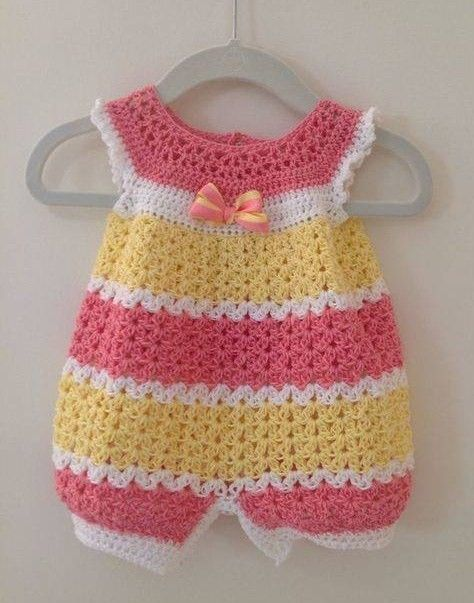 Crochet Dungarees Pattern Gallery Knitting Patterns Free Download