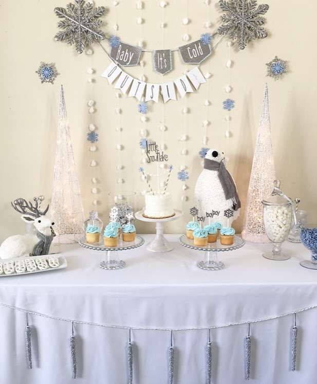 96 best Winter Baby Shower Ideas images on Pinterest Shower