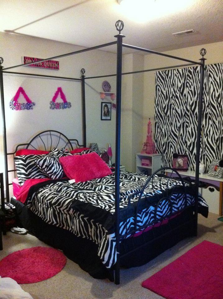 girly room decorations for girls site:pinterest.com | Little girls zebra room | Ideas for my house(: