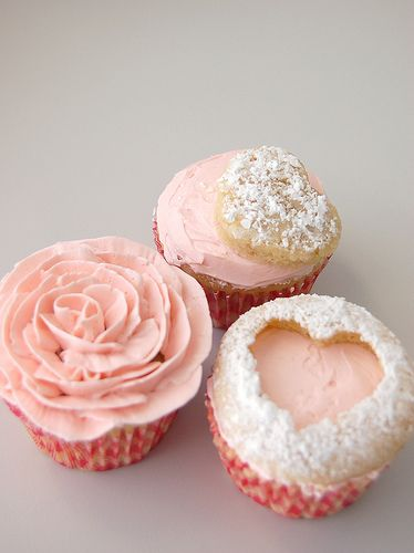 cupcake idea, like the heart one