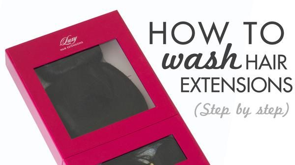 In this blog post, we show you how to wash clip in human hair extensions properly, the best shampoo for hair extensions, and hair extension care.