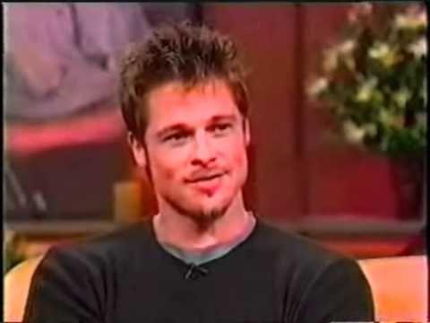 Brad Pitt on Oprah September 11-1998 Q&A - YouTube