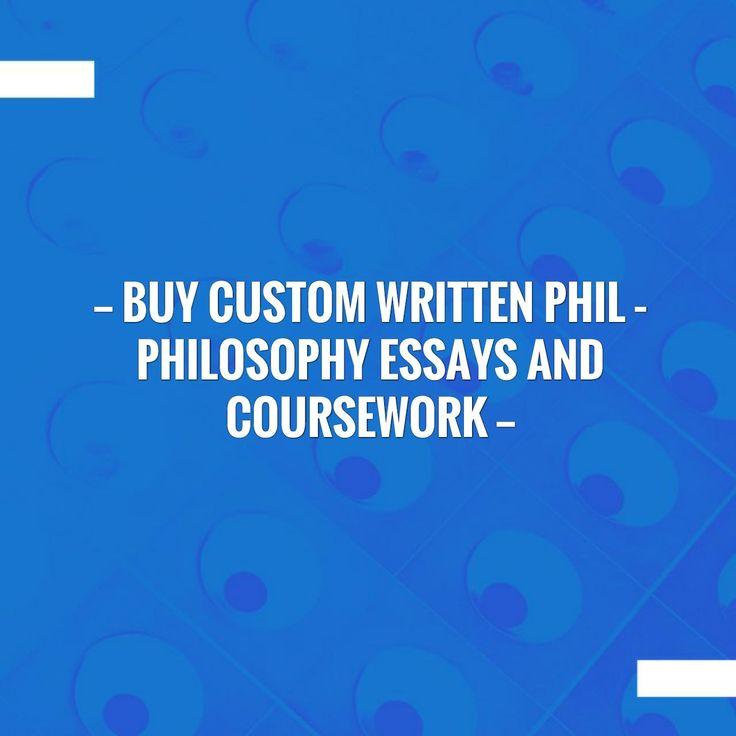 Custom philosophy papers