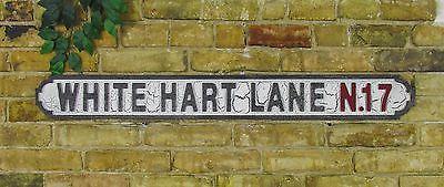 Wood Road Street Sign White Hart Lane N17
