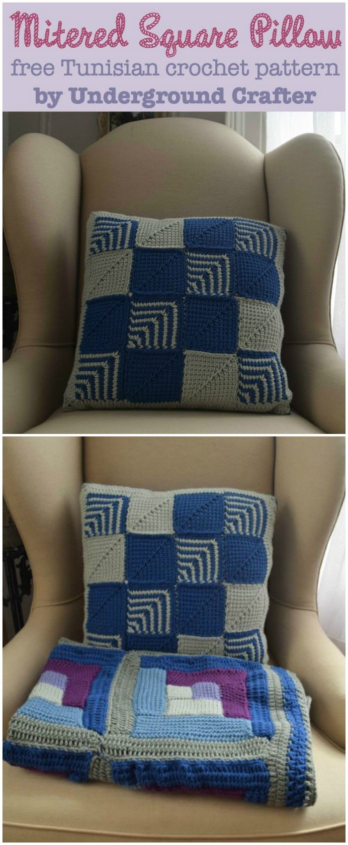 168 best free crochet patterns images on pinterest free crochet pillow patterns to brighten up your home bankloansurffo Gallery
