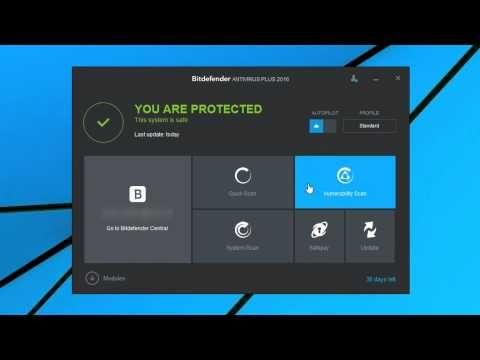 Bitdefender Antivirus Plus 2016 - Antivirus Protection Against Malware - Download Software Preview - YouTube