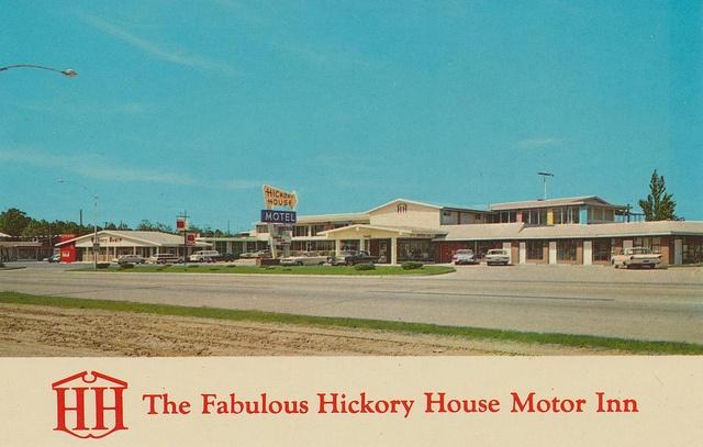 POPLAR BLUFF, MO Missouri DEL REX COURT c1960s Roadside
