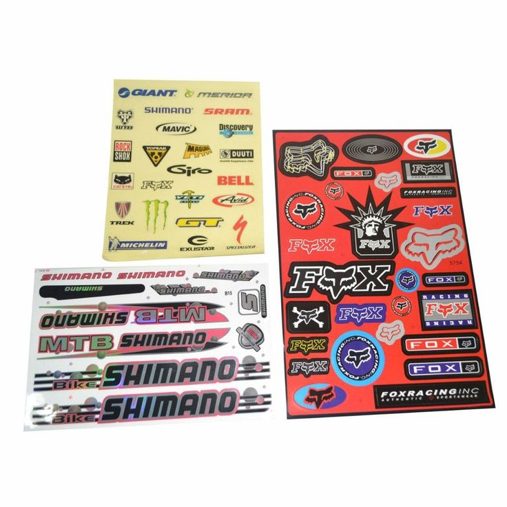 MEIJUN MTB Mountain Bike Bicycle Stickers Tags Paster Parts Free Shipping