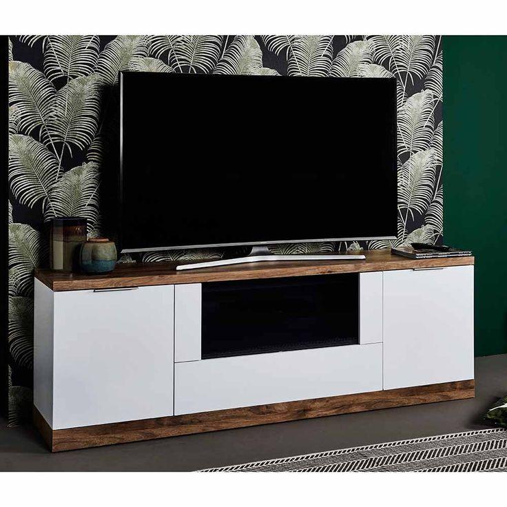 TV Schrank in Weiß Eiche dunkel 180 cm Jetzt bestellen unter: https://moebel.ladendirekt.de/wohnzimmer/tv-hifi-moebel/tv-schraenke/?uid=5b112551-ab5f-5b98-be57-9664bf37030e&utm_source=pinterest&utm_medium=pin&utm_campaign=boards #fernsehboard #rack #phonoschrank #tvboard #fernsehunterschrank #tvschraenke #tische #tvhifimoebel #lowboard #schrank #fernsehtisch #unterschrank #möbel #phonomöbel #bank #fernseher #tvtische #sideboard #fernsehschrank #wohnzimmer #kommode #board Bild Quelle…