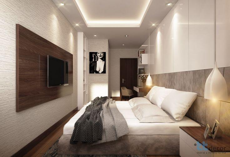 Thiết kế thi công nội thất căn hộ chung cư Hoàng Anh Thanh Bình - Phòng ngủ hiện đại #thicongnoithat #thietkenoithat #noithat #chungcu #nhadep #noithatdep #interior #designer #interiordesign #home #decoration