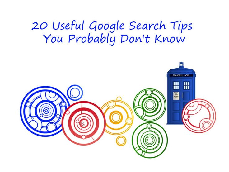 20 Useful Google Search Tips You Probably Don't Know