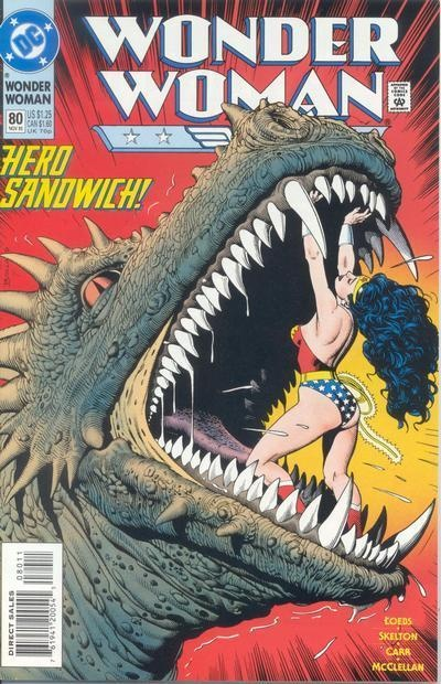 Wonder Woman #80 - Comic Book Cover